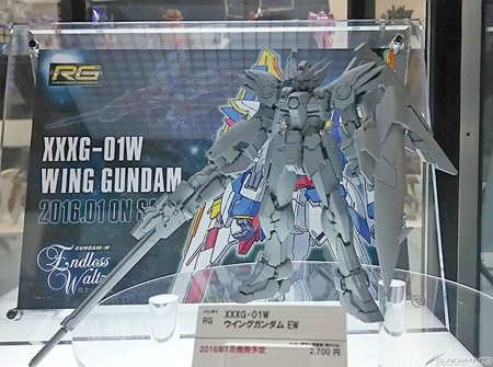 RG 1/144 Wing Gundam EW - On Display @ Gundam Expo 2015 (Hiroshima)