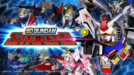 Smarthphone Games: SD Gundam Striker nuovi PV
