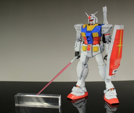 MG 1/100 RX-78 Gundam [Gundam THE ORIGIN] @Gundam Expo 2015 (Hiroshima)