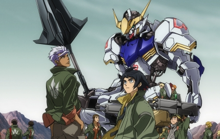 Gundam IRON-BLOODED ORPHANS svelati tre nuovi Mobile Suit